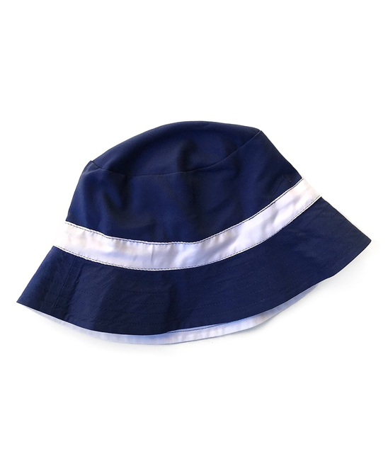 d4fdc4b7815 Cabana Life Navy   White Reversible Bucket Hat