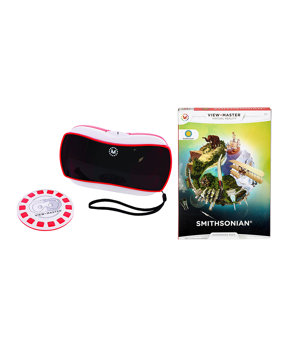 Mattel View-Master V R  Viewer & Smithsonian Experience Pack