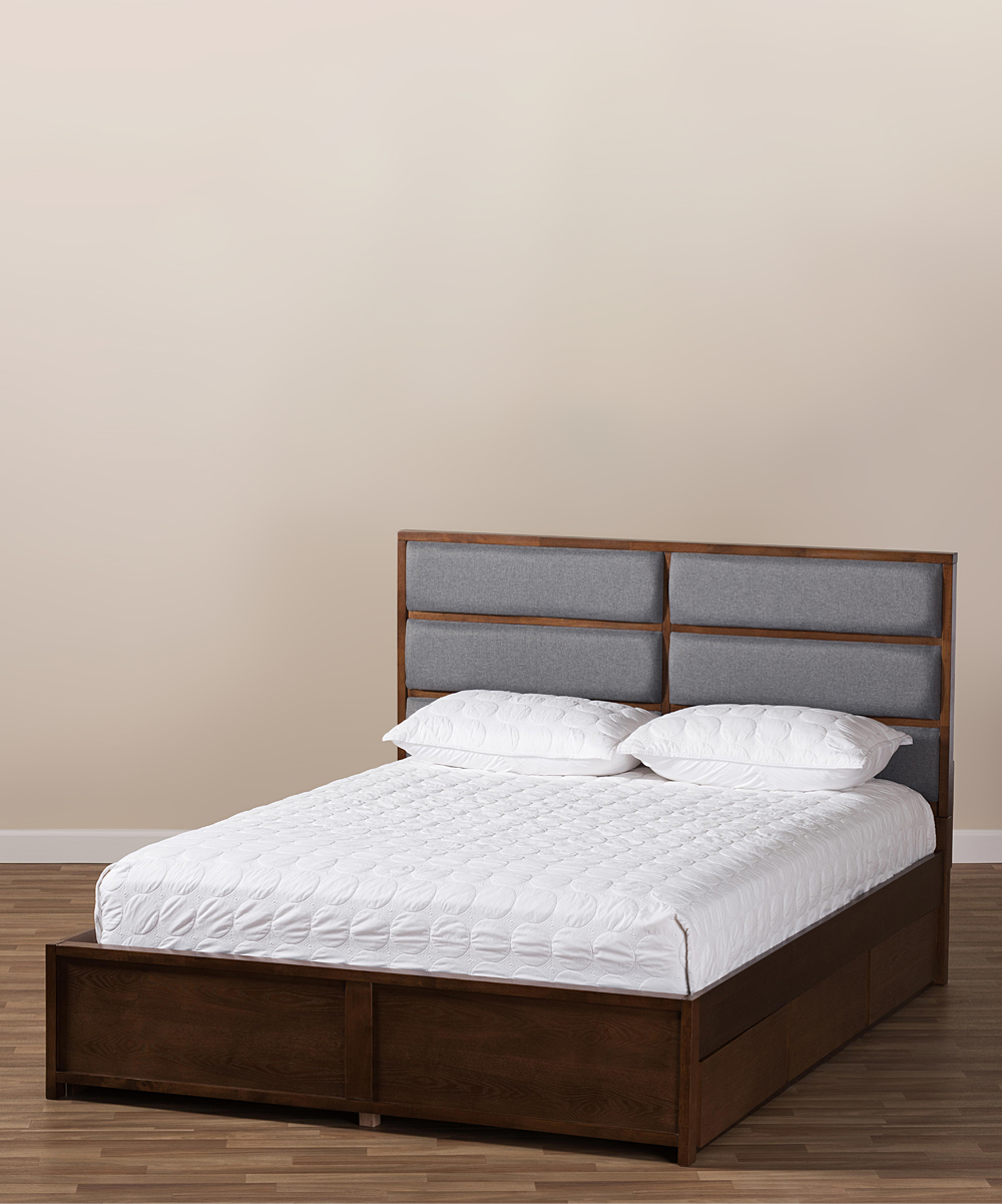all gone. Contemporary Macy King Storage Bed · Womens Grey Walnut ... b34e0b8b5d