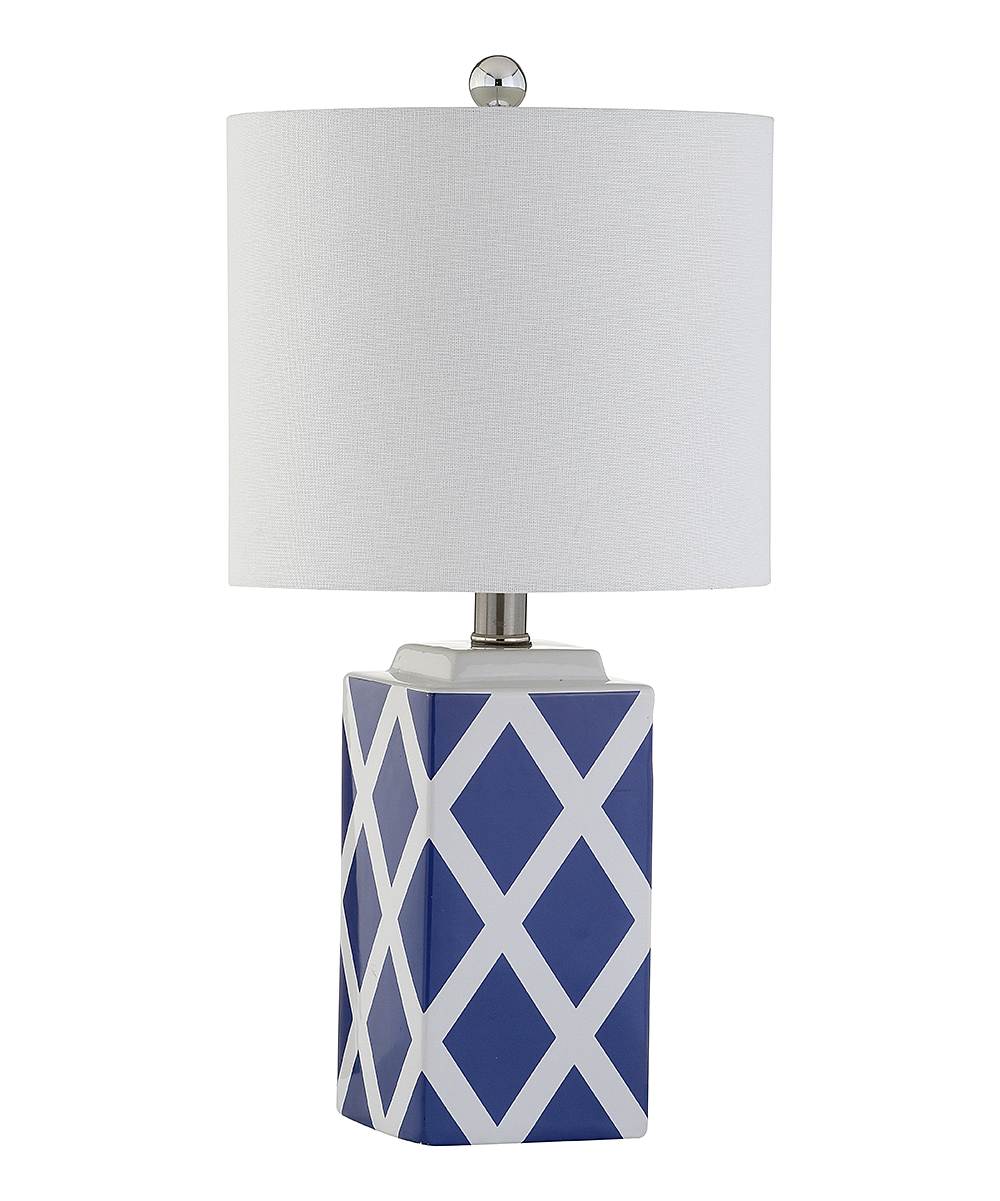Safavieh Soria Lattice Marble Table Lamp Zulily