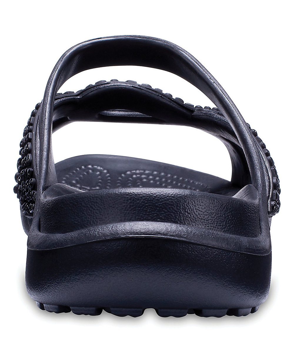 f1c7f1f39c73 ... Womens Blk Blk Black Meleen Twist Diamante Sandal - Alternate Image 5