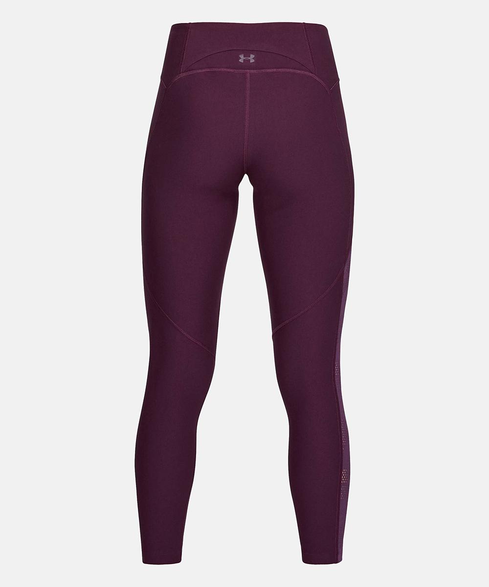 8172fdf4bcfab2 love this product Merlot Mesh Contrast Ankle UA Vanish Crop Leggings - Women