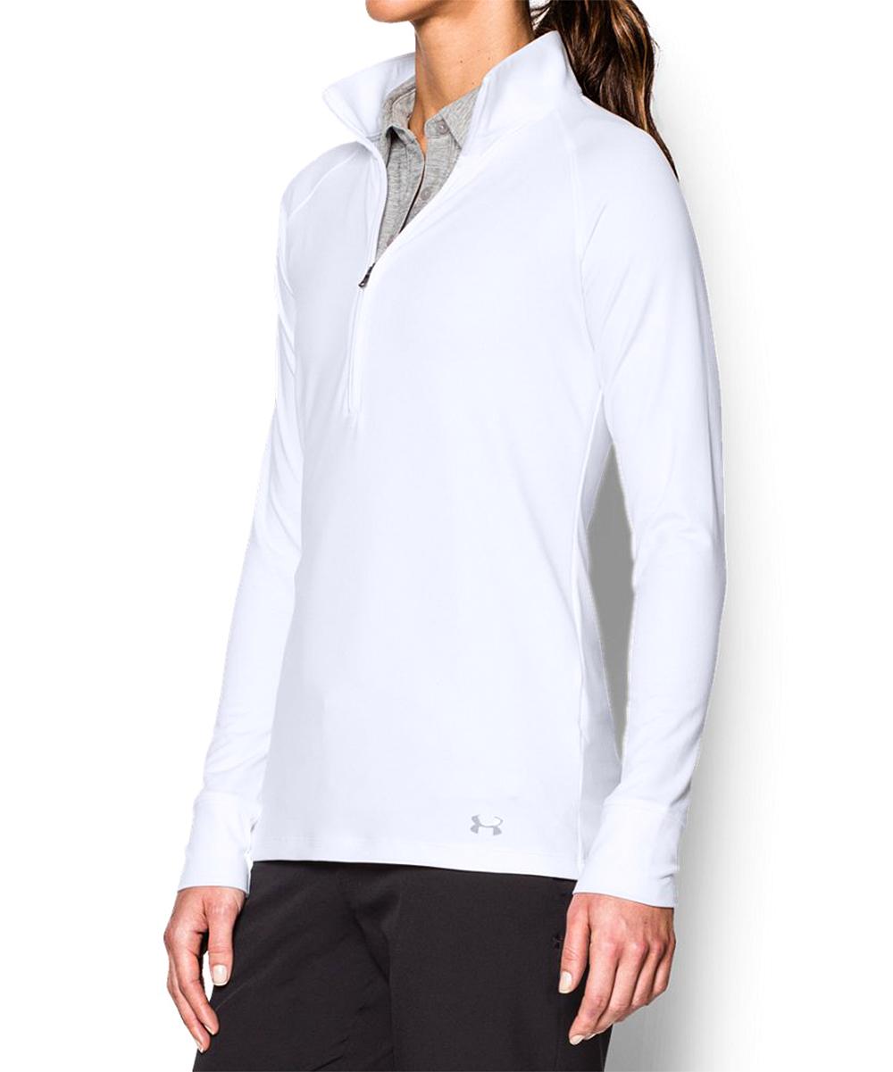 67b16f6355 Under Armour® White Zinger Half-Zip Pullover - Women