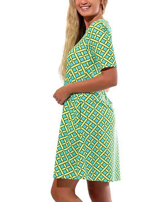 a2dd9f5c0ad8 ... Womens Citrus Grove Citrus Grove Bayshore Lane Swing Dress - Alternate  Image 3