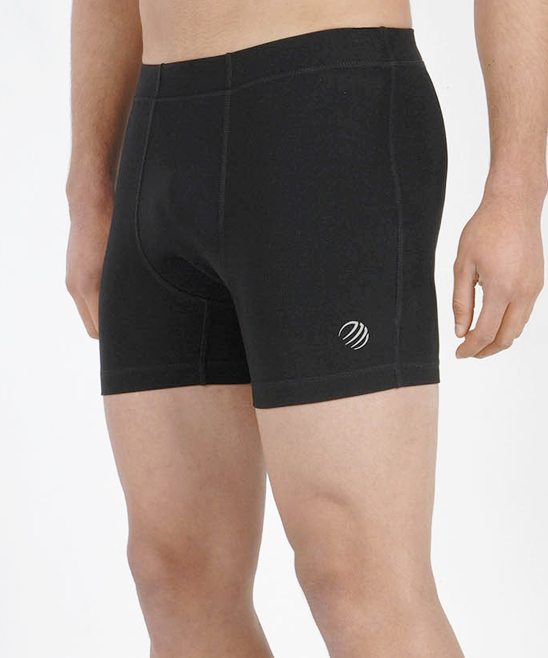 Black Shape Shorts - Men Black Shape Shorts - Men. These shorts lend him a second-skin feel for wearing under his favorite pair of basketball shorts or on their own for a hot yoga class.Size S: 4'' inseam88% polyester / 12% spandexMachine wash; dry flatImported