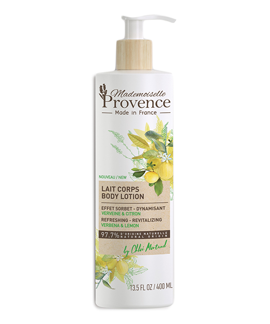 Mademoiselle Provence Verbena & Lemon Refreshing & Revitalizing Body Lotion