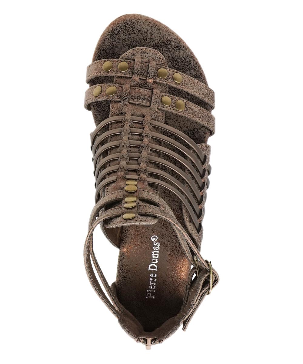fcf02edc5aab ... Womens bronze Bronze Adele Gladiator Sandal - Alternate Image 5