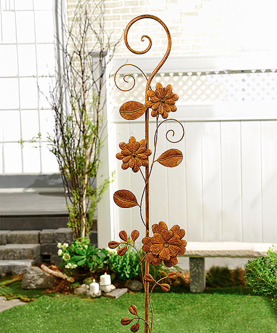 Small Enchanted Garden Stake Design Trellis
