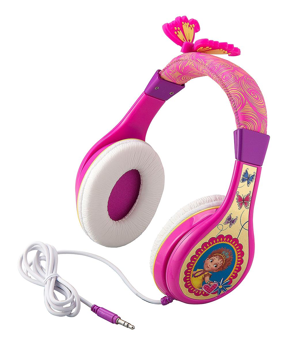 KIDdesigns Girls' Wired Headphones  - Fancy Nancy Youth Headphones