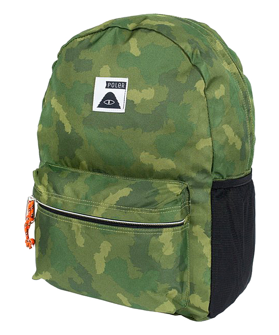Poler Stuff Green Furry Camo Rambler Backpack  4abe974d636d7