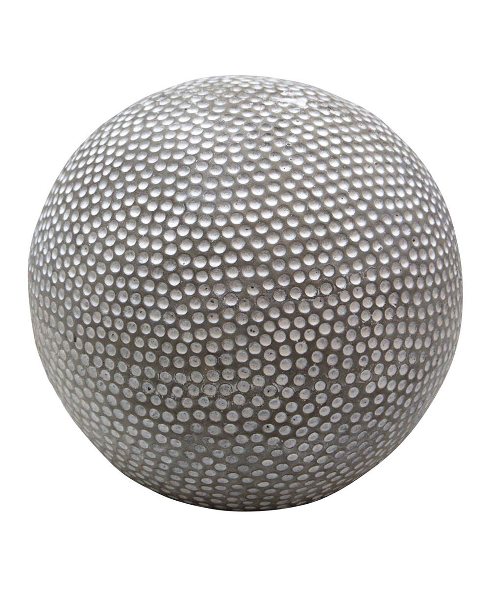 Home Essentials and Beyond  Collectibles and Figurines  - 8'' Cement Sphere