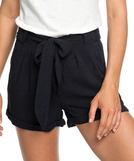 Roxy Women's Casual Shorts True - True Black Life in a Love Shorts - Juniors