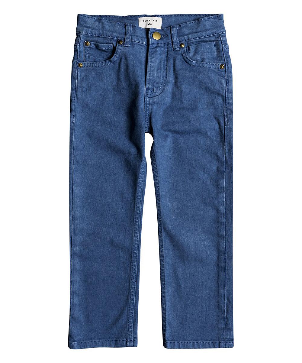 0039031e9e4 Quiksilver Bijou Blue Distorsion Colors Slim-Fit Jeans - Toddler ...