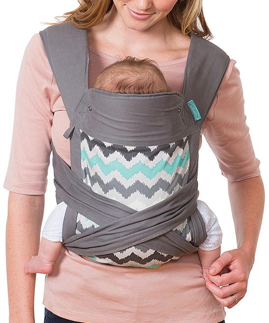 Infantino Ikat Chevron Sash Wrap Tie Mei Tai Carrier