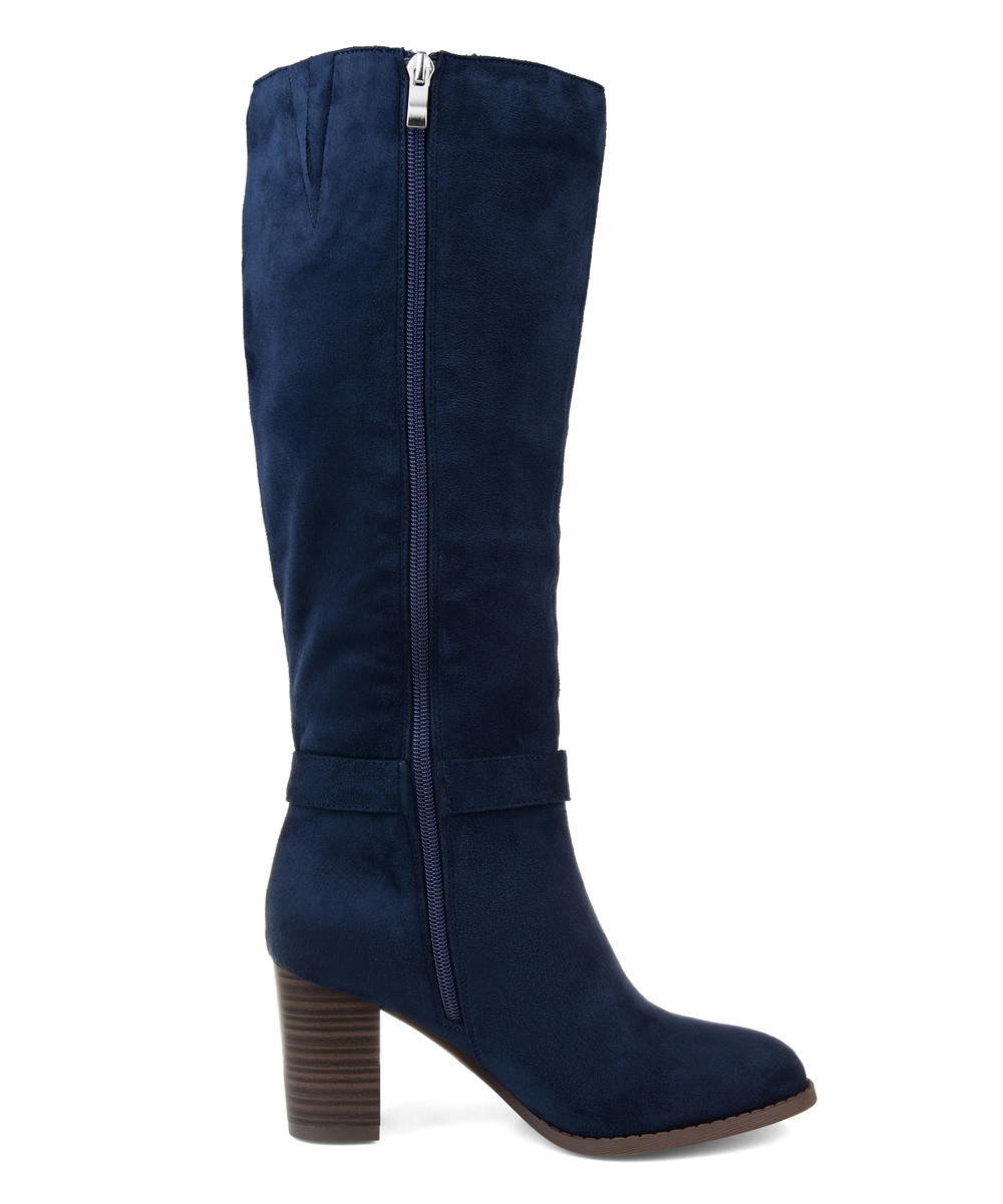 b405387a80f4 Brinley Co. Navy Joelle Wide-Calf Boot - Women