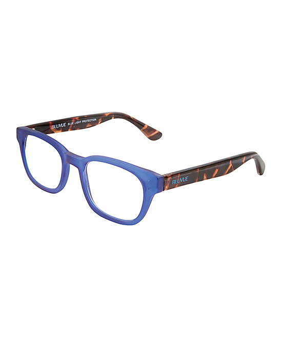 BluVue Women's Reading Glasses MATTE - Matte Blue Tortola Readers