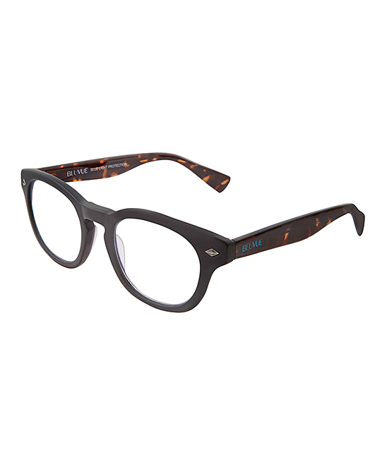 BluVue Women's Reading Glasses MATTE - Matte Black Nova Readers