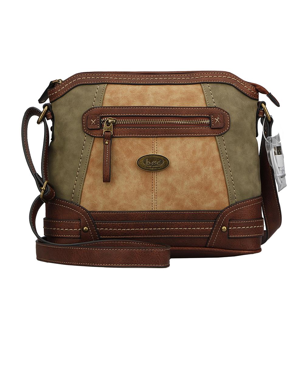 9da2261fa4 love this product Olive & Tan Cronton Crossbody Bag