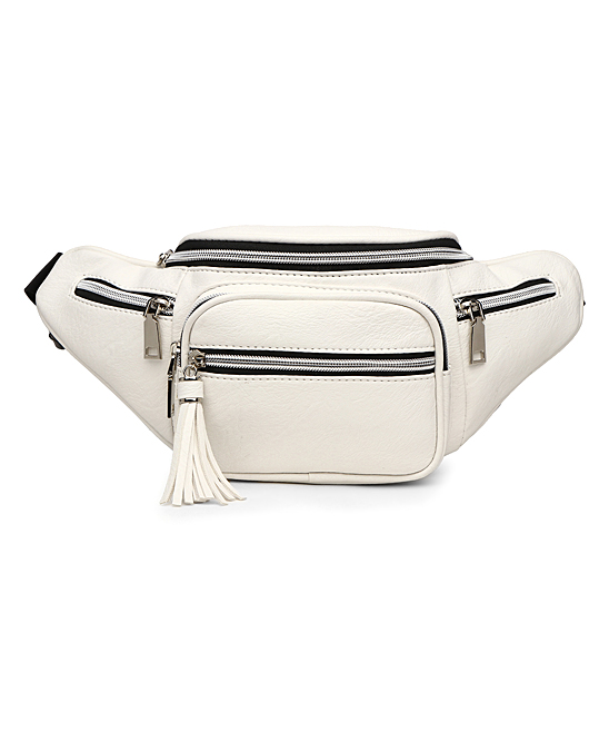 e3f8f7871f3c Blue Heaven White Multi-Compartment Belt Bag
