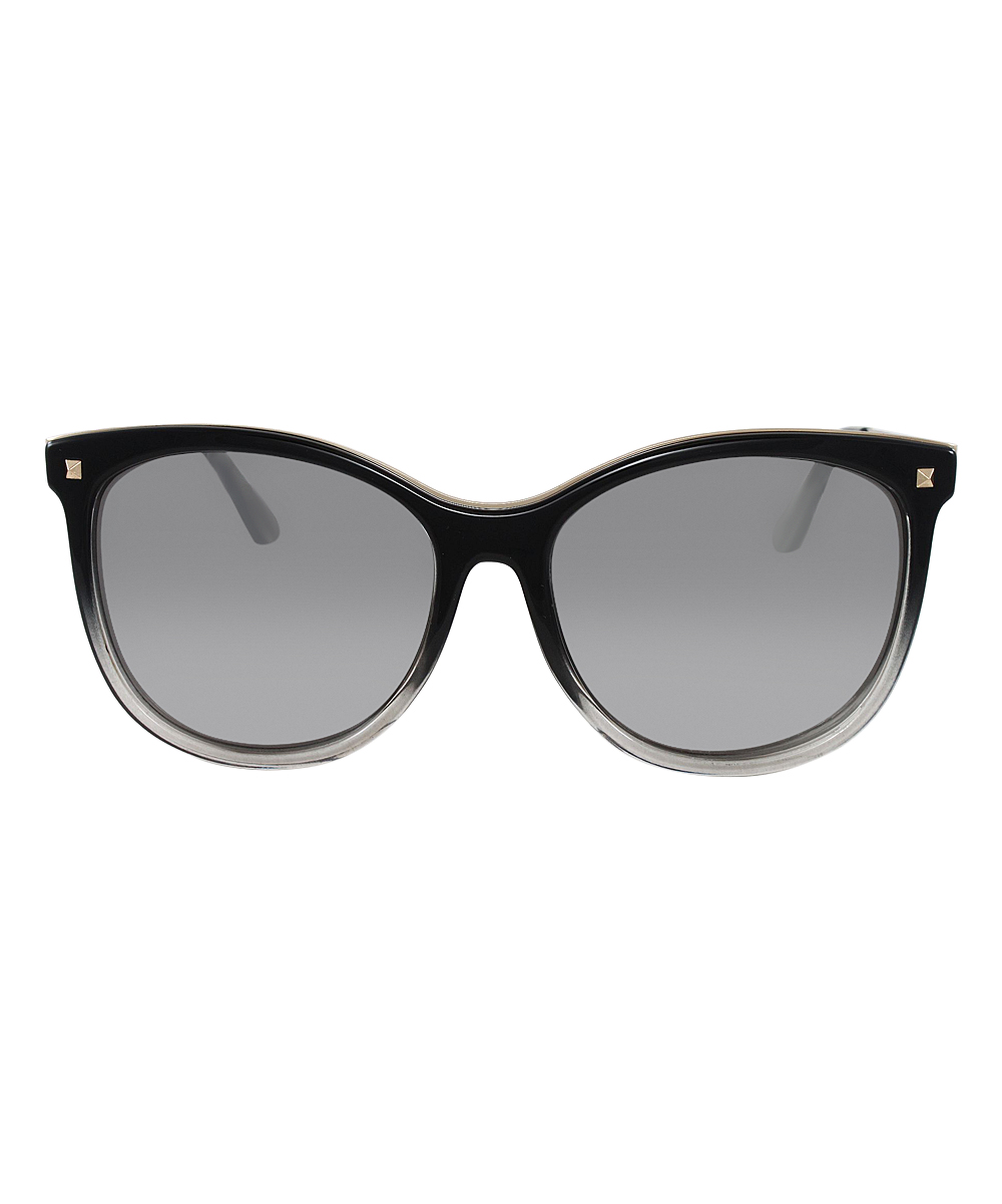 7c4a5a8f1 love this product Black Gradient Oversize Cat-Eye Sunglasses - Women