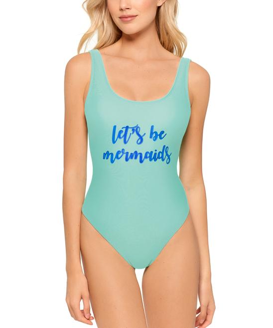 f3b22daa30 99 Degrees Sua Lets Be Mermaids One-Piece - Women | Zulily