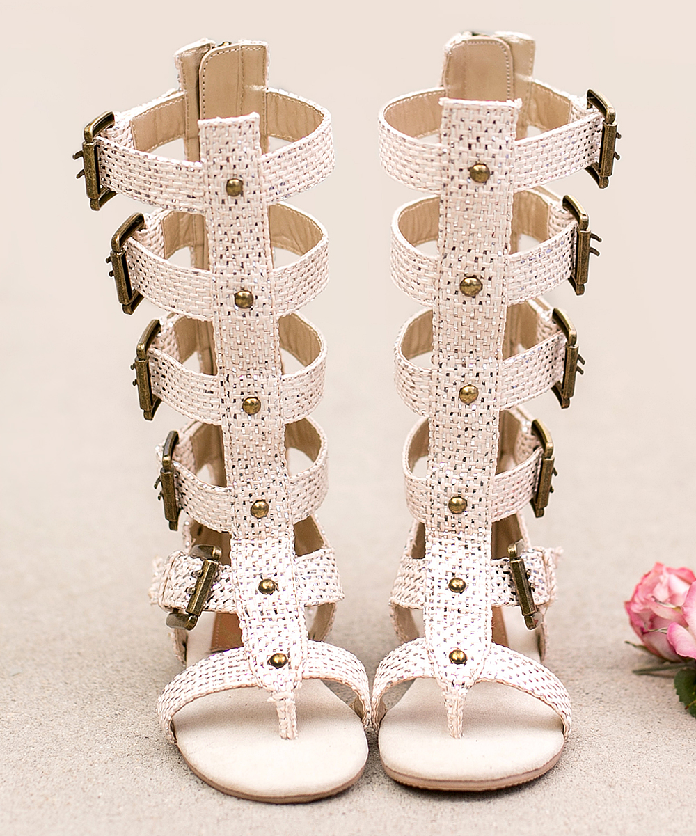 284f72a3d833 Joyfolie metallic jayla gladiator sandal girls zulily jpg 1000x1201 Joyfolie  jayla gladiator sandal