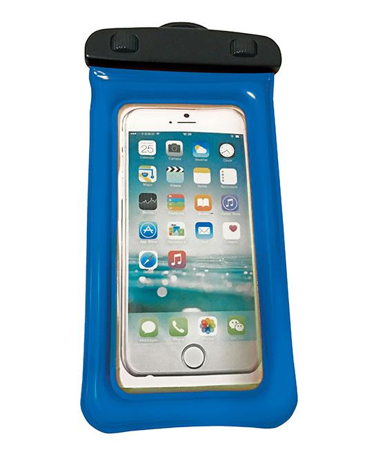 WOW World of Watersports   BLUE - Blue 4'' x 8'' Waterproof Phone Holder