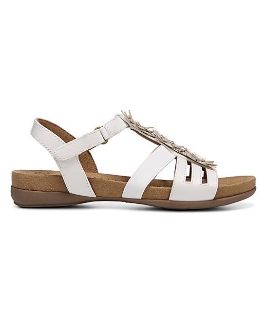 36df9407c13f ... Womens WHITE SMOOTH White Amore Sandal - Alternate Image 2 ...