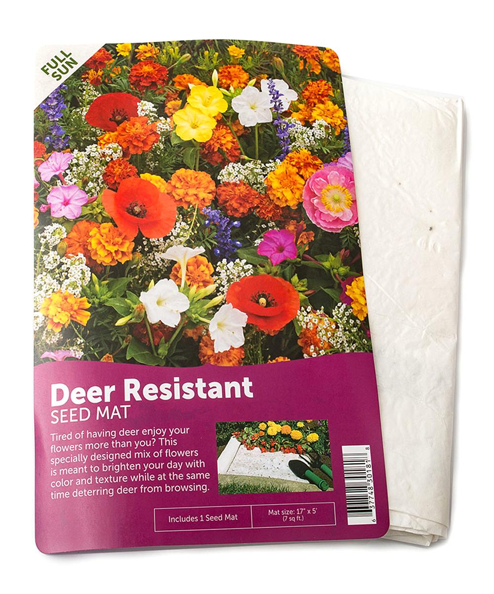Deer Resistant Seed Mat