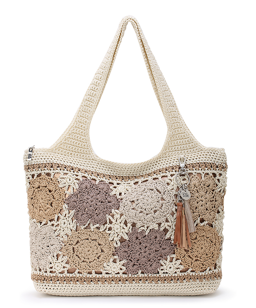 27 viewing. Natural Floral Casual Classics Tote a6438f321