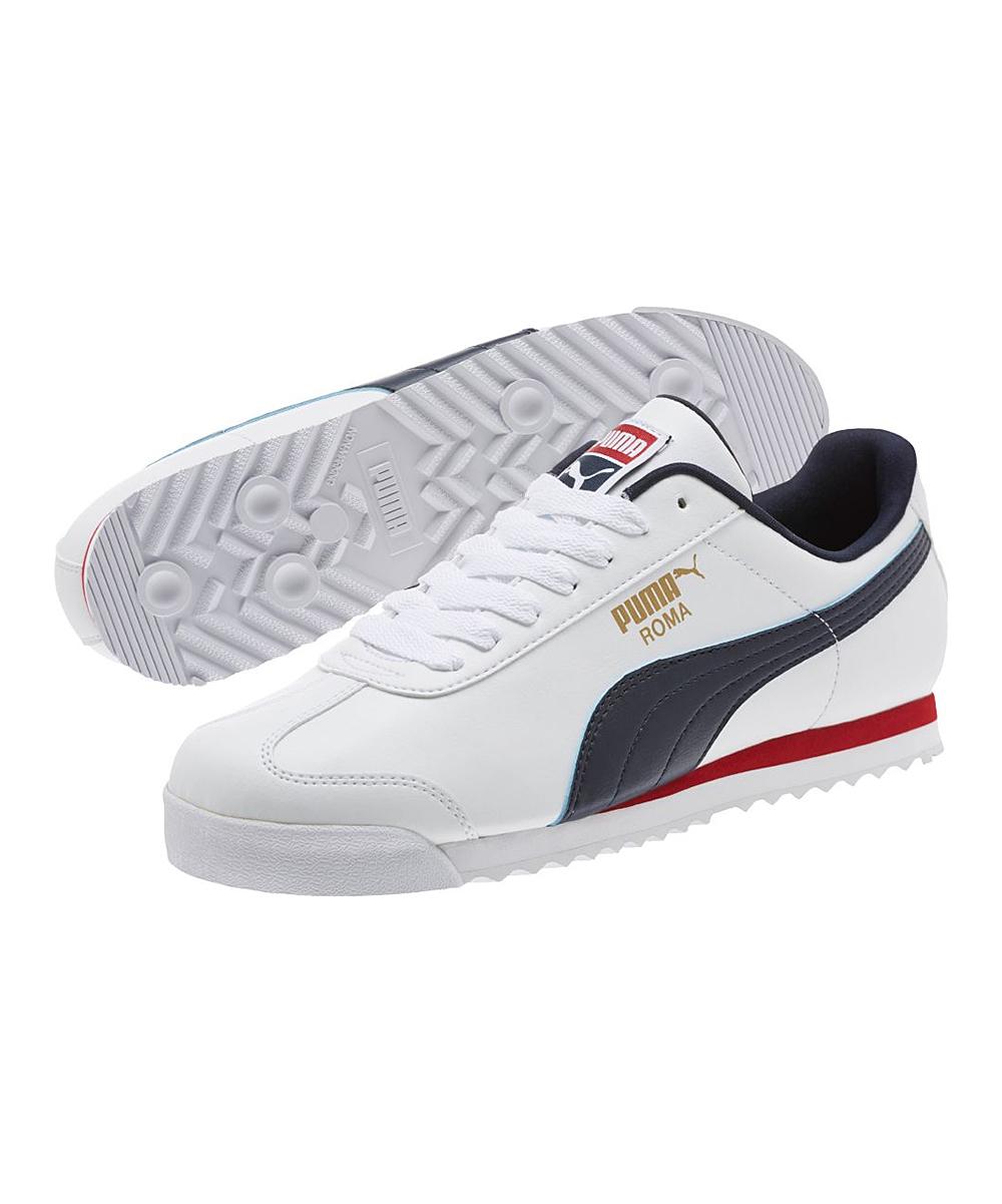 PUMA White   Night Sky Roma Basic Sneaker - Men  b70d9db6c