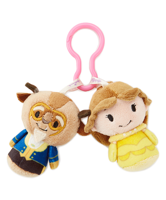 Itty Bitty Clippy Beauty & the Beast Plush Toys