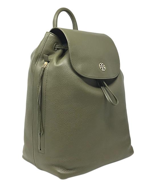 92db9c92ed19 Tory Burch Banana Leaf Brody Pebbled Leather Backpack