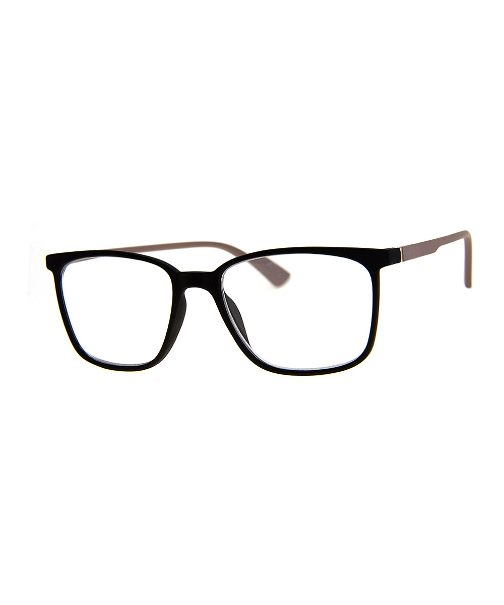 A.J. Morgan Women's Reading Glasses BLACK - Black Main Frame Readers