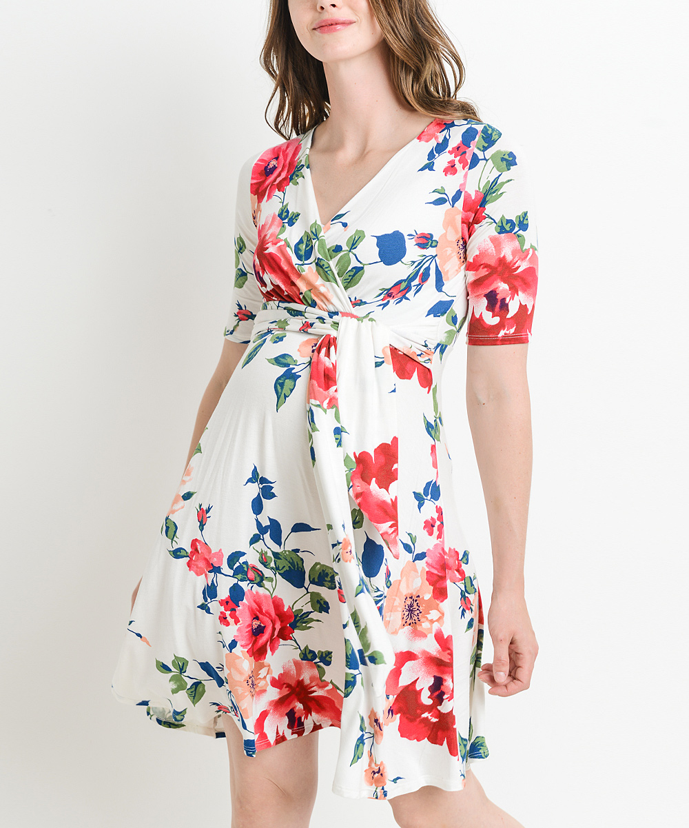 151d18d307 Maternity Dresses - Dress Your Bump in Colorful Comfort at zulily