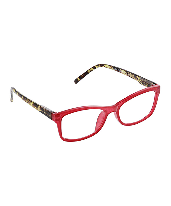 PeeperSpecs Women's Reading Glasses Pink - Pink Sand Bar Readers