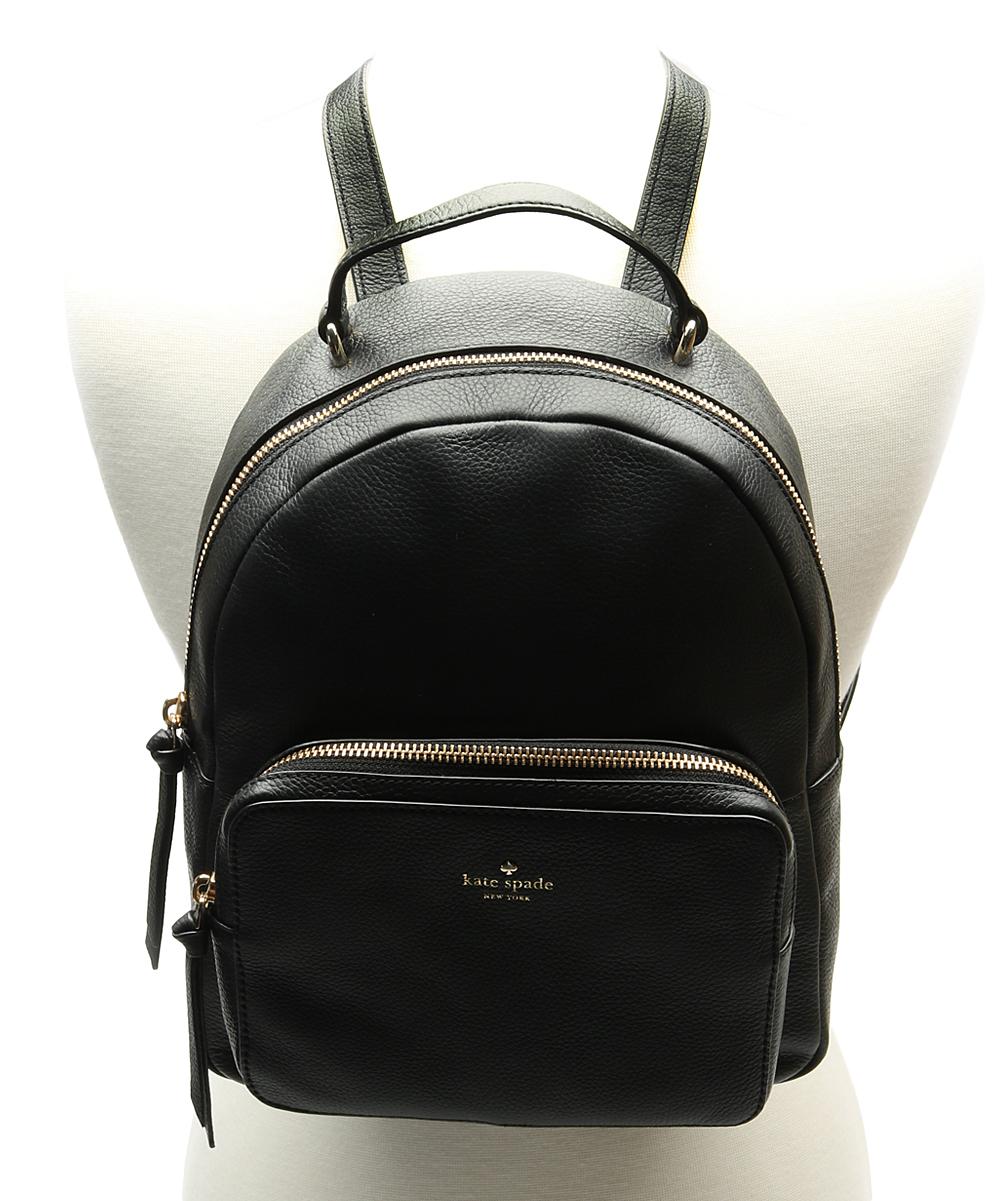 8357f03c8aba ... Womens BLACK - 001 Black Mini Nicole Larchmont Avenue Leather Backpack  - Alternate Image 2 ...