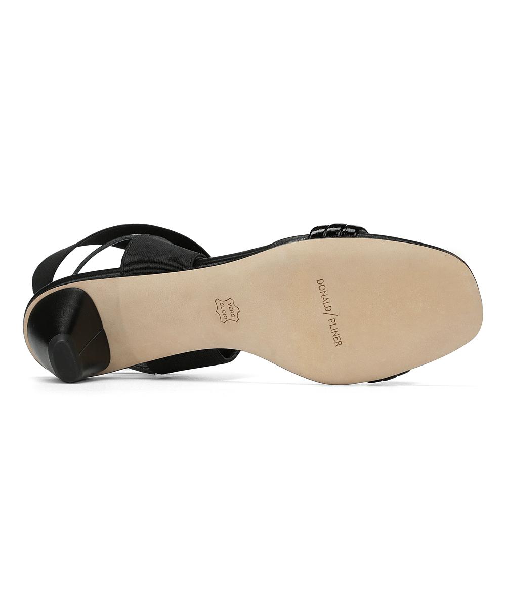 58882f9ad4ec ... Womens BLACK Black Hira Leather Gladiator Sandal - Alternate Image 5