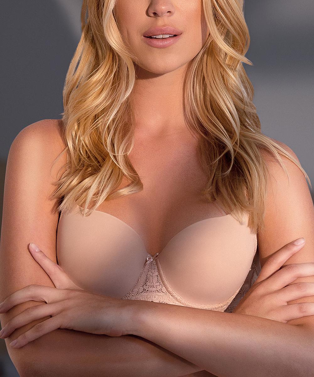 a631a4ecf4 ... Womens European Nude Nude Matilda Push-Up Bra - Alternate Image 3 ...