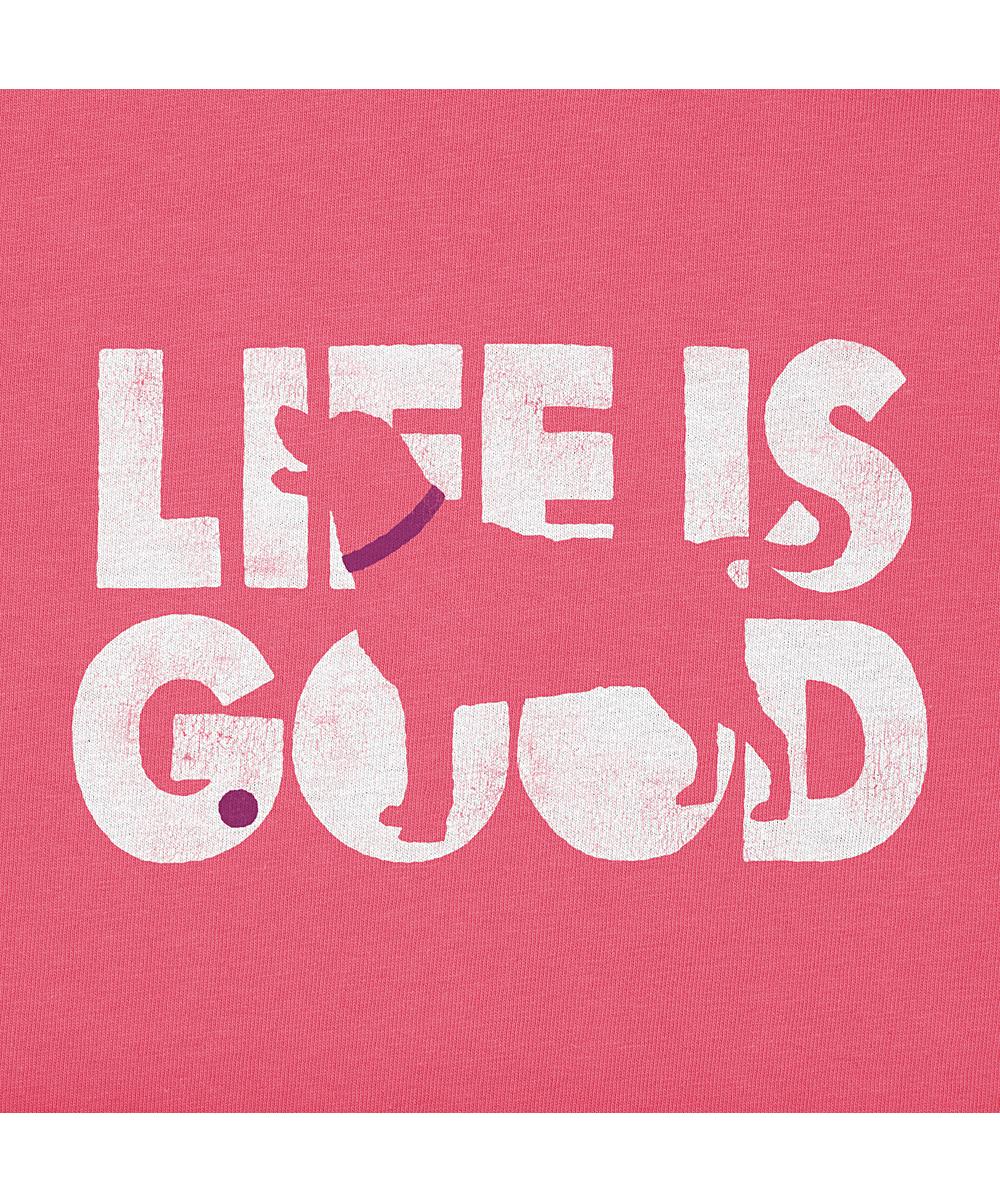 6fb30195a ... Womens Fiesta Pink Fiesta Pink Knockout Dog Crusher Tee - Alternate  Image 2