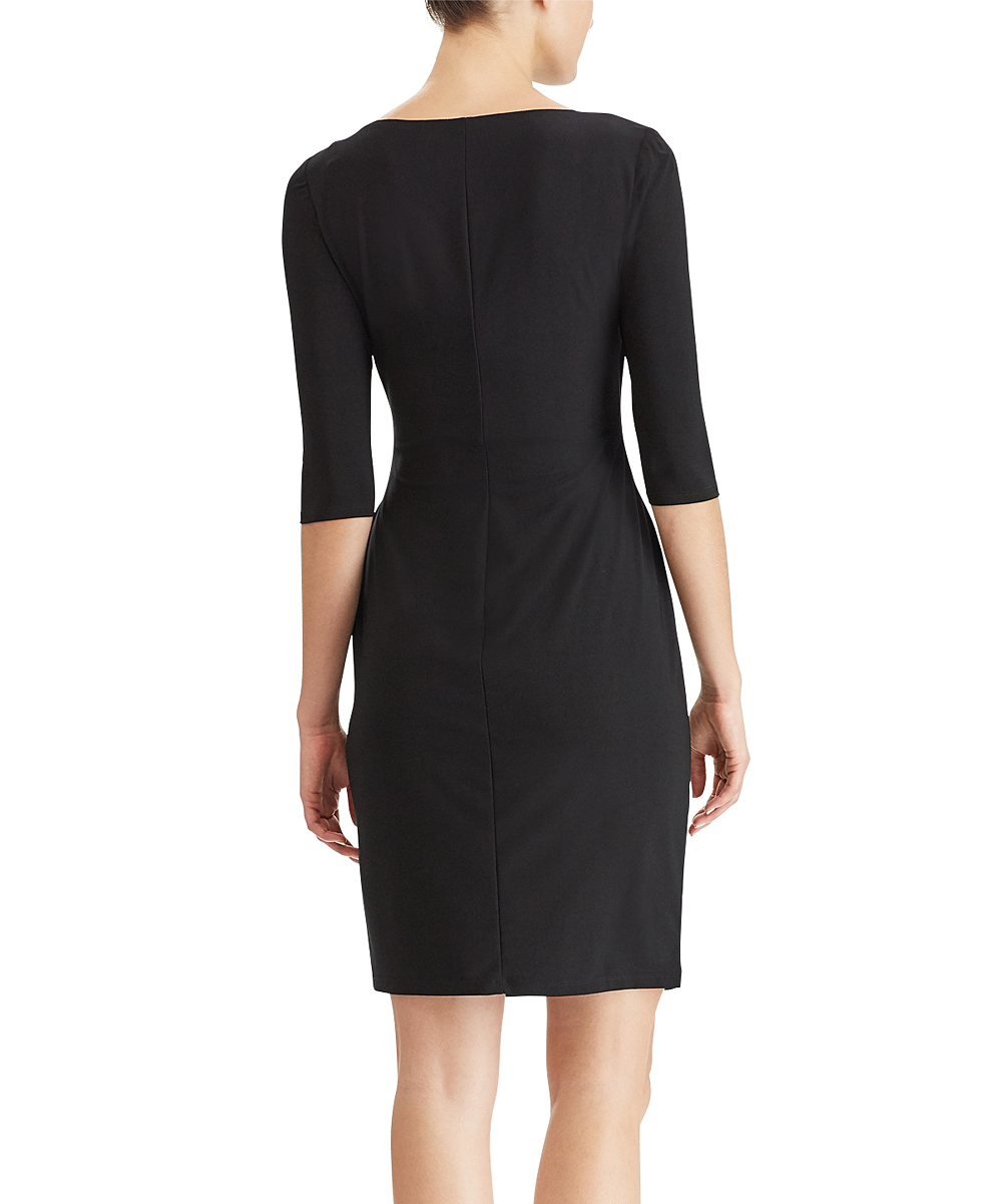 c93b0aed ... Womens BLACK Black Kelby Sheath Dress - Alternate Image 2 ...