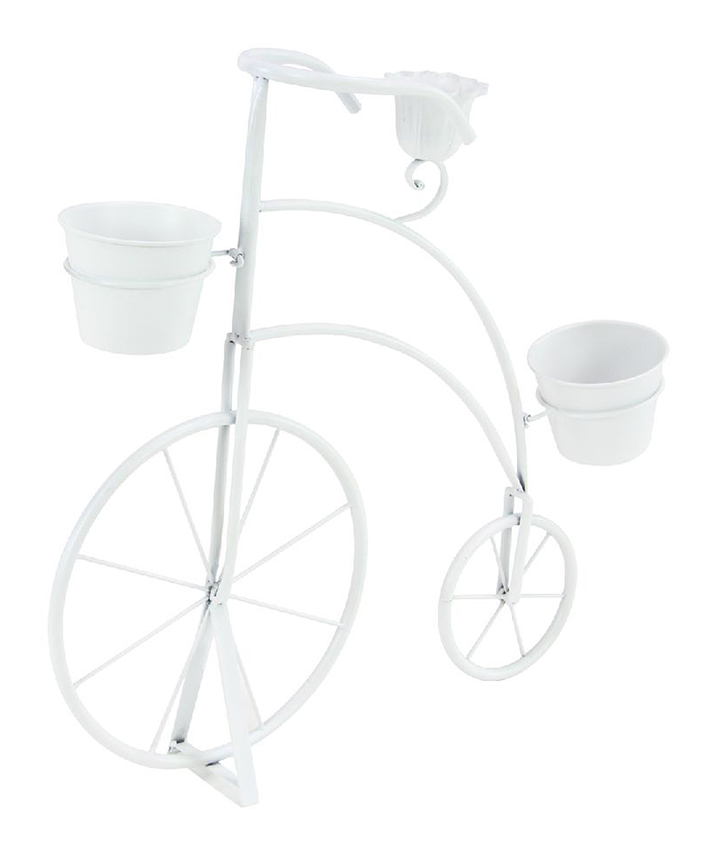 Farmhouse Penny Farthing Bicycle Metal Planter Zulily