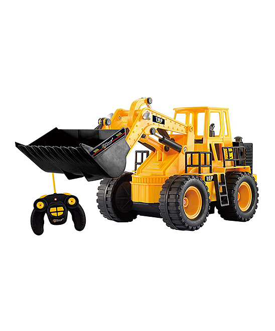 Top Race  Remote Control Toys  - Remote Control Front Loader Toy Set