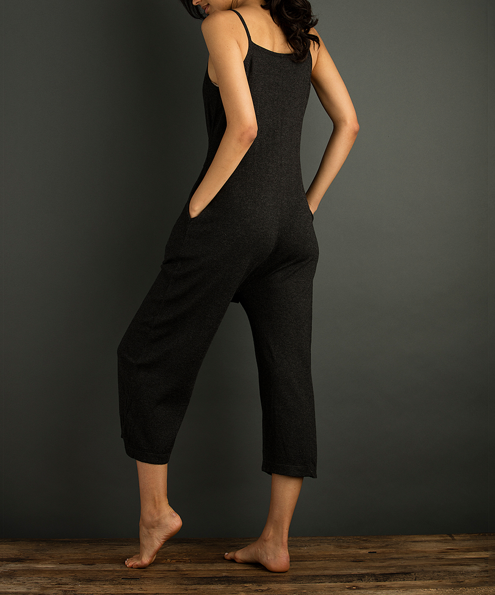 2a9688949ef ... Womens BLACK Black Ember Culotte Jumpsuit - Alternate Image 2
