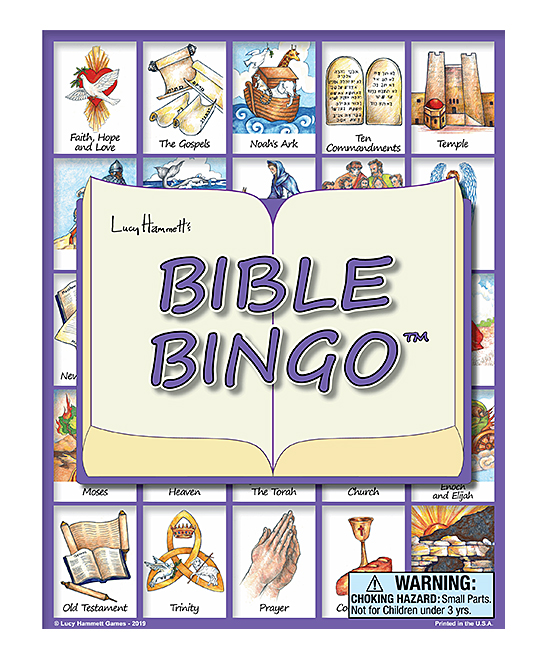 Lucy Hammett Games  Board Games  - Bible Bingo Game