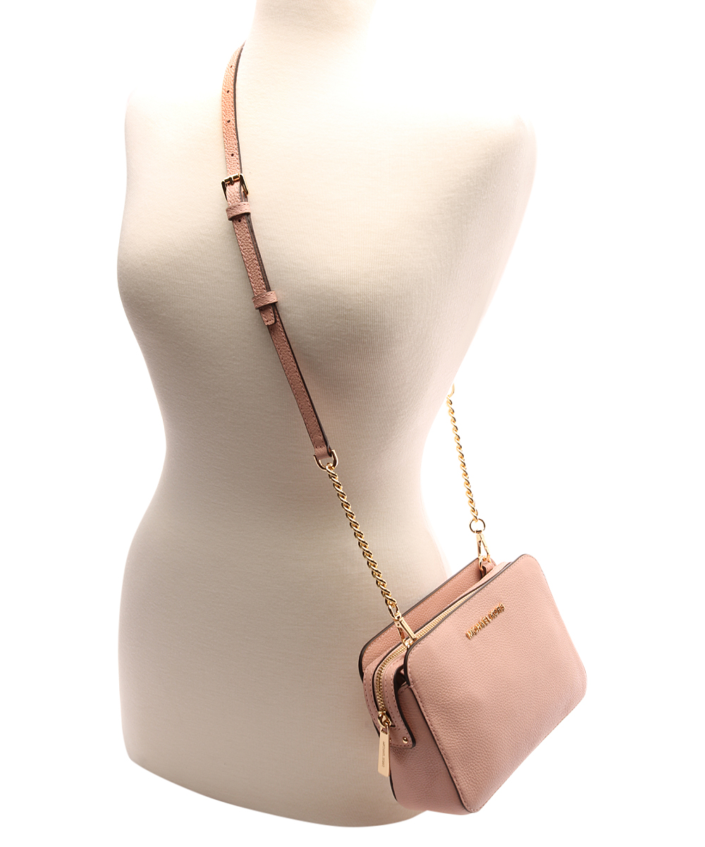 f2498f0d6380 ... Womens PASTEL PINK Pastel Pink Adele Leather Crossbody Bag - Alternate  Image 3