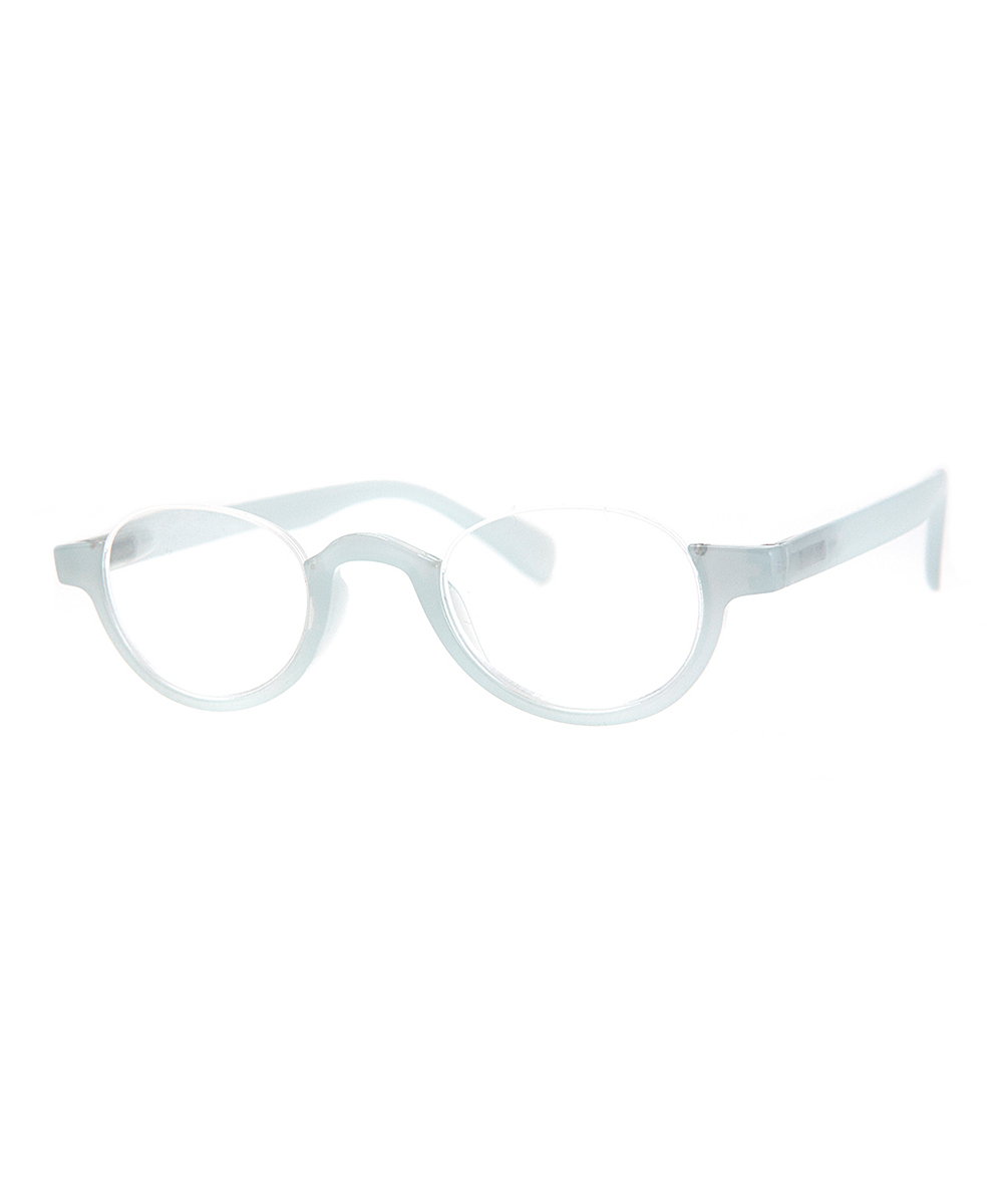 A.J. Morgan Women's Reading Glasses LT.GREY - Light Gray Bottom-Rim Spooky Readers