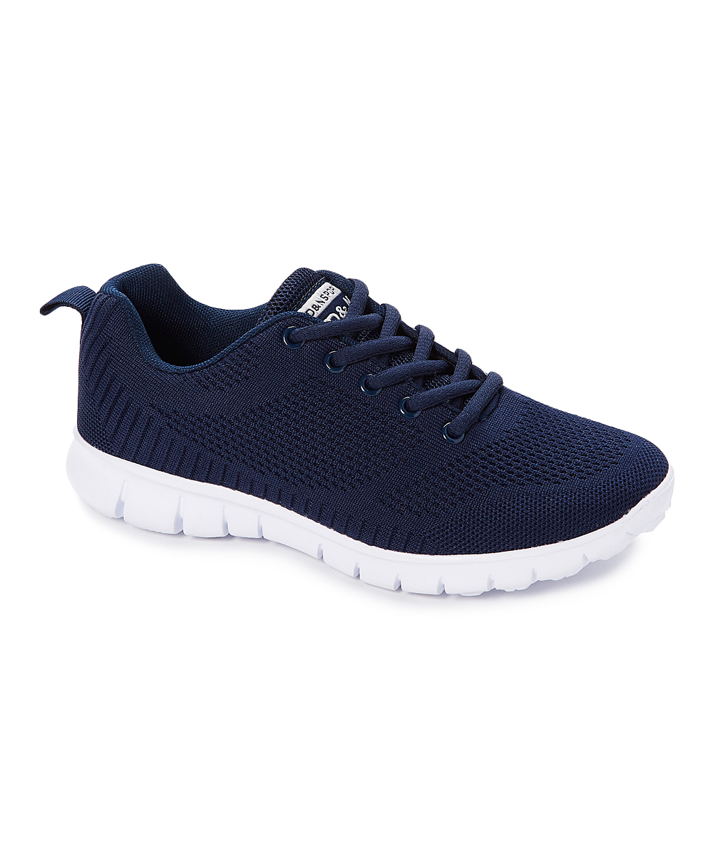 SPORT Women's Sneakers navy - Navy Lace-Up Sneaker - Women