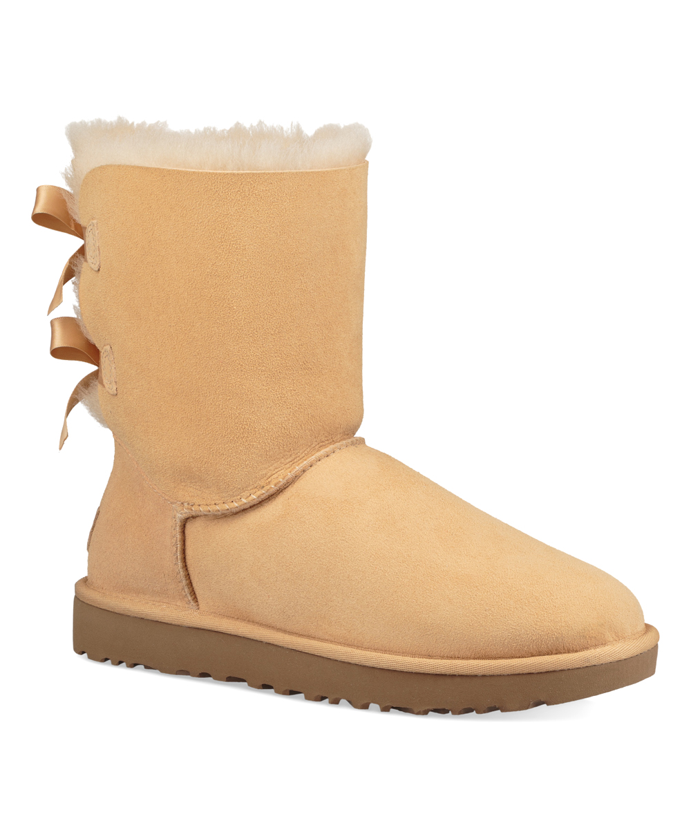 d15af4eeced UGG® Soft Ochre Bailey Bow II Suede Boot - Women