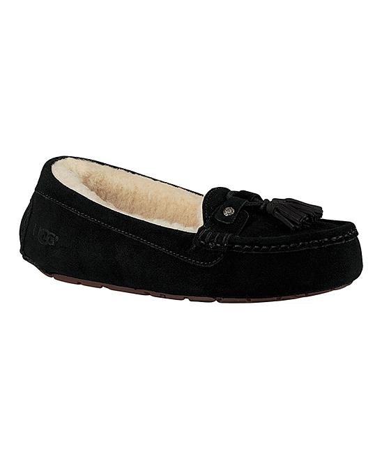f7ccaa3381e UGG® Black Litney Suede Slipper - Women